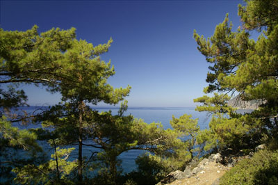 Küstenabschnitt bei Agia Romeli